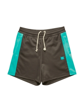 Face Track Shorts, black