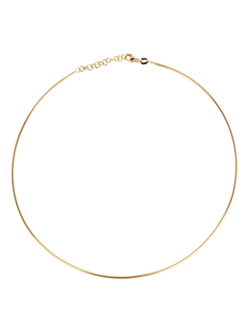 18K Yellow Gold Wire Choker