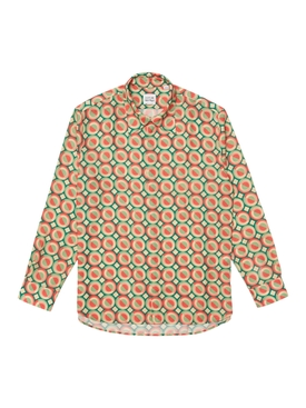 x Ricky Regal Relaxed Fit Flowy Print Shirt