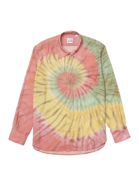 x Ricky Regal Relaxed Fit Flowy Tie-Dye Shirt