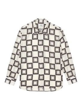 x Ricky Regal Relaxed Fit Flowy Checkerboard Shirt