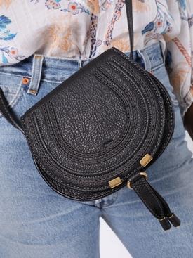 Small Marcie cross-body bag BLACK
