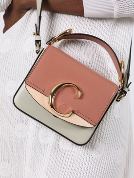 C mini tricolor bag