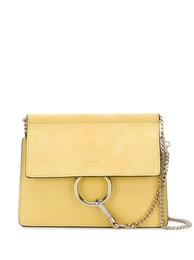 Yellow Faye Cross-body bag