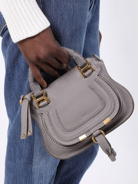 Mini Marcie double carry bag CASHMERE GREY