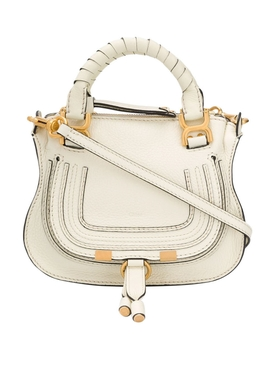 Natural White Marcie Mini Double bag