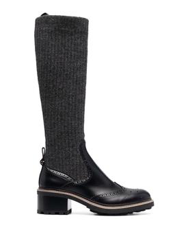 FRANNE SOCK BOOTS BLACK