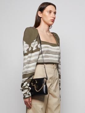 Faye Small Zipped Bag Black