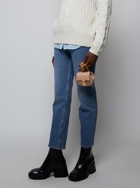 Mini Drew Cross-body Bag, Cement Pink