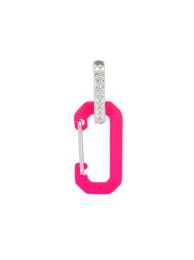 CHIARASMALL EARRING, Fluorescent Pink