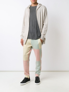 Cashmere Multicolored Drawstring Pants