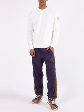 Purple Face Track Pants