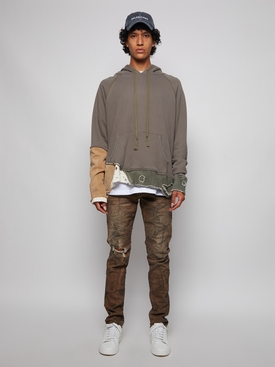Fragment Hoodie Army green