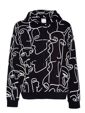 ALL OVER FACES HOODIE