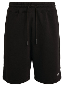 Satellite Cross Basketball Shorts Black and Silver