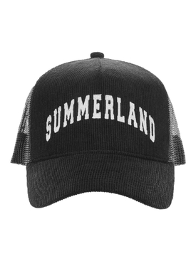 CORDUROY SUMMERLAND TRUCKER HAT