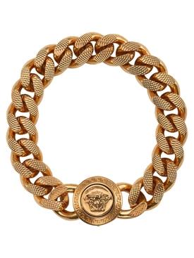 Gold-tone Medusa Logo Bracelet