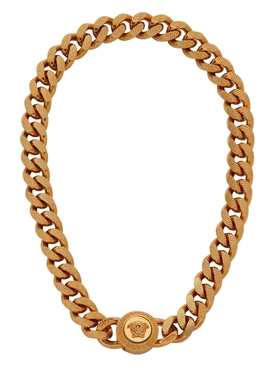 Medusa Icon Chain Necklace