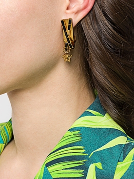 Gold Bamboo earrings