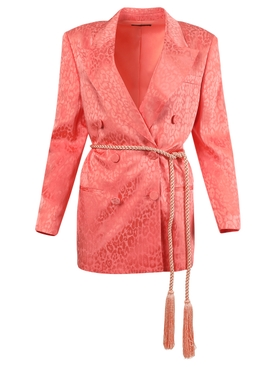 Coral Double Breasted Blazer
