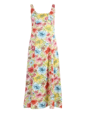 Alexachung - Multicolored Floral Mid-length Dress - Women