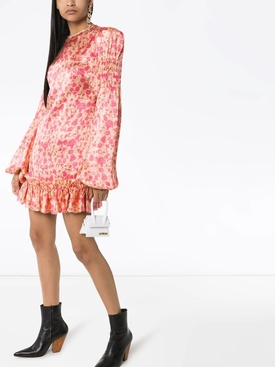 THE WHOLE LOTTA LIBERTY SILK MINI DRESS