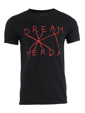 Dream Merda t-shirt BLACK/RED