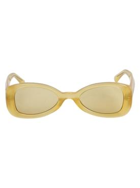 x Dries Van Noten Yellow Sunglasses