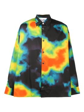 heat map illusion shirt