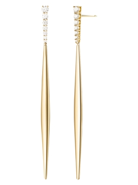 Gold Aria Stiletto Earring