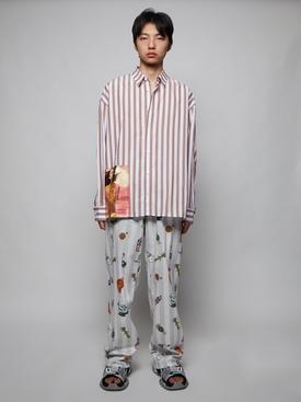 Striped Illusion Shirt
