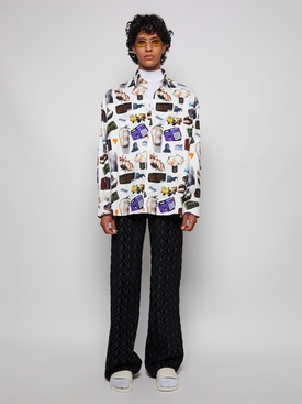 X Martine Syms Illusion All Over Shirt