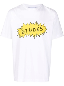 X BEAVIS AND BUTTHEAD ANGRY TEE WHITE AND YELLOW