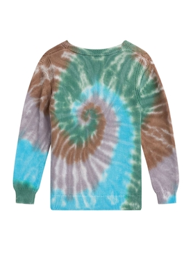 Kids Tie-Dye Knit Sweater