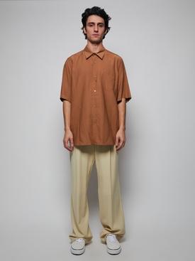 Short Sleeve Summer Fit Shirt BEIGE