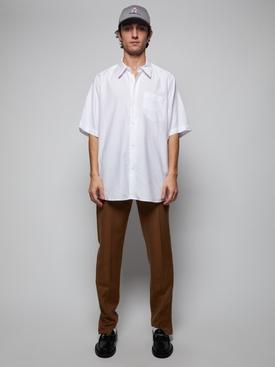 Short Sleeve Summer Fit Shirt WHITE