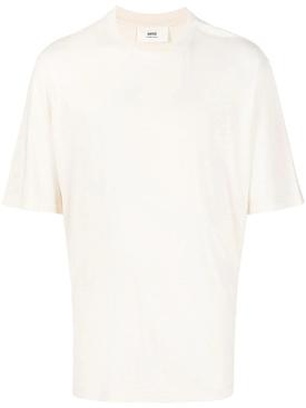 Classic Cotton Blend T-shirt OFF-WHITE