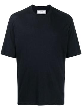 Classic Cotton Blend T-shirt NAVY