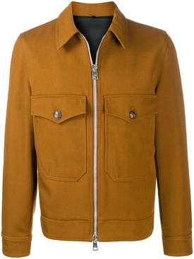 Classic Zipped Jacket Copper Brown