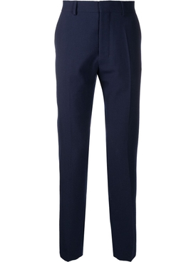 CIGARETTE FIT TROUSERS NAVY