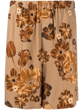 Floral bermuda shorts