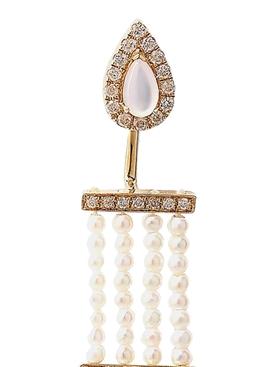 Rare Pearl Multiplé Earring