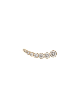 Croissant Claire Diamond Earring