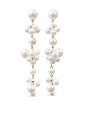 Celli Longue pearl earrings