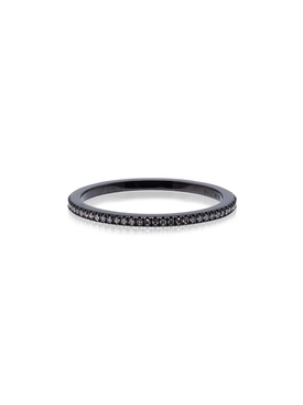 18K Rhodium Diamond Eternity ring