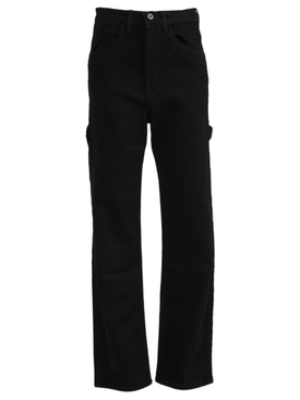 Carolyn High-Waisted Jean Black