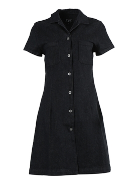 Eve Denim - Carlotta Denim Dress Black - Women