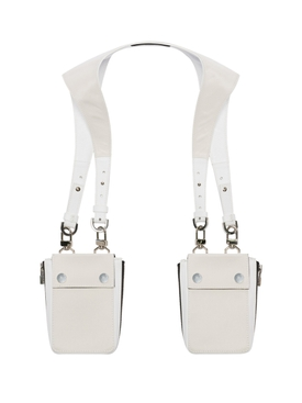 Nylon harness bag Natural