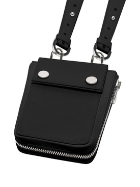 Nylon harness bag Black
