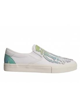 Watercolor Skeleton Toe Sneakers